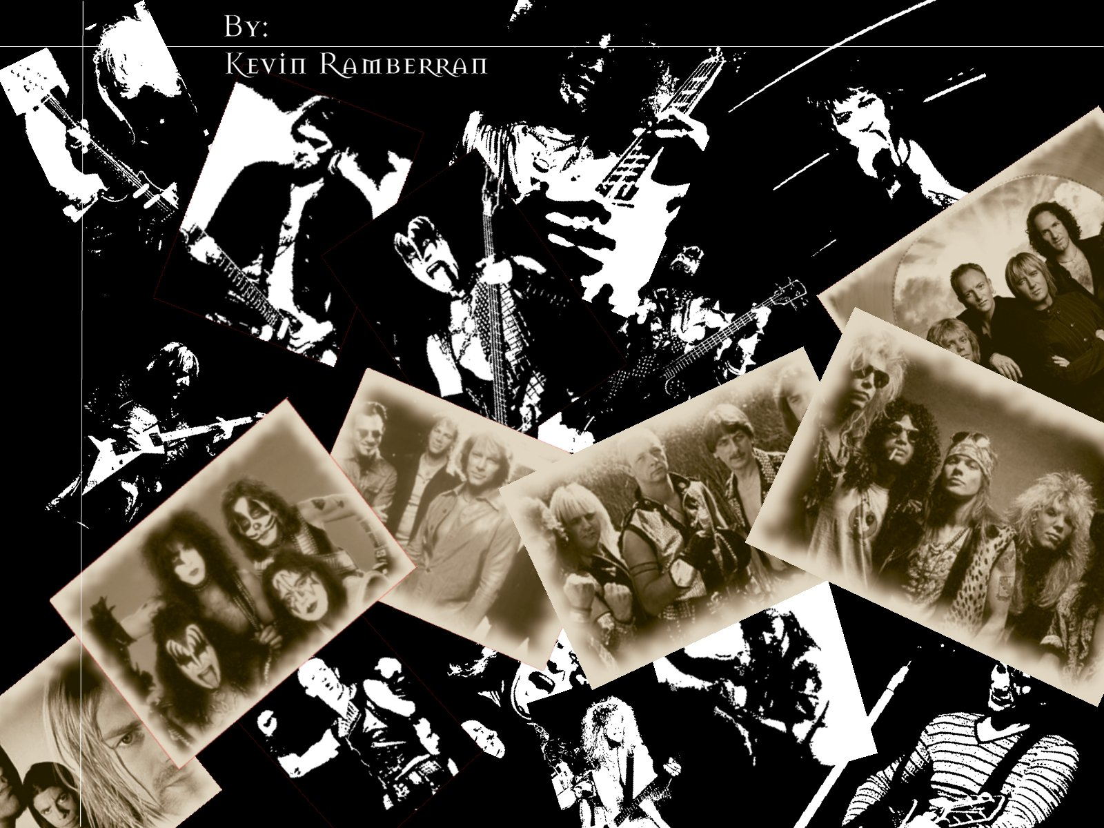 Classic Rock Wallpaper by kevinram 1600x1200