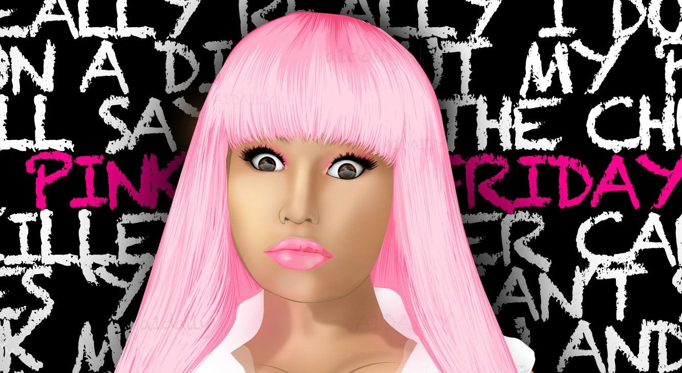 nicki minaj wallpapers 9 pink fridayjpg 1332x728