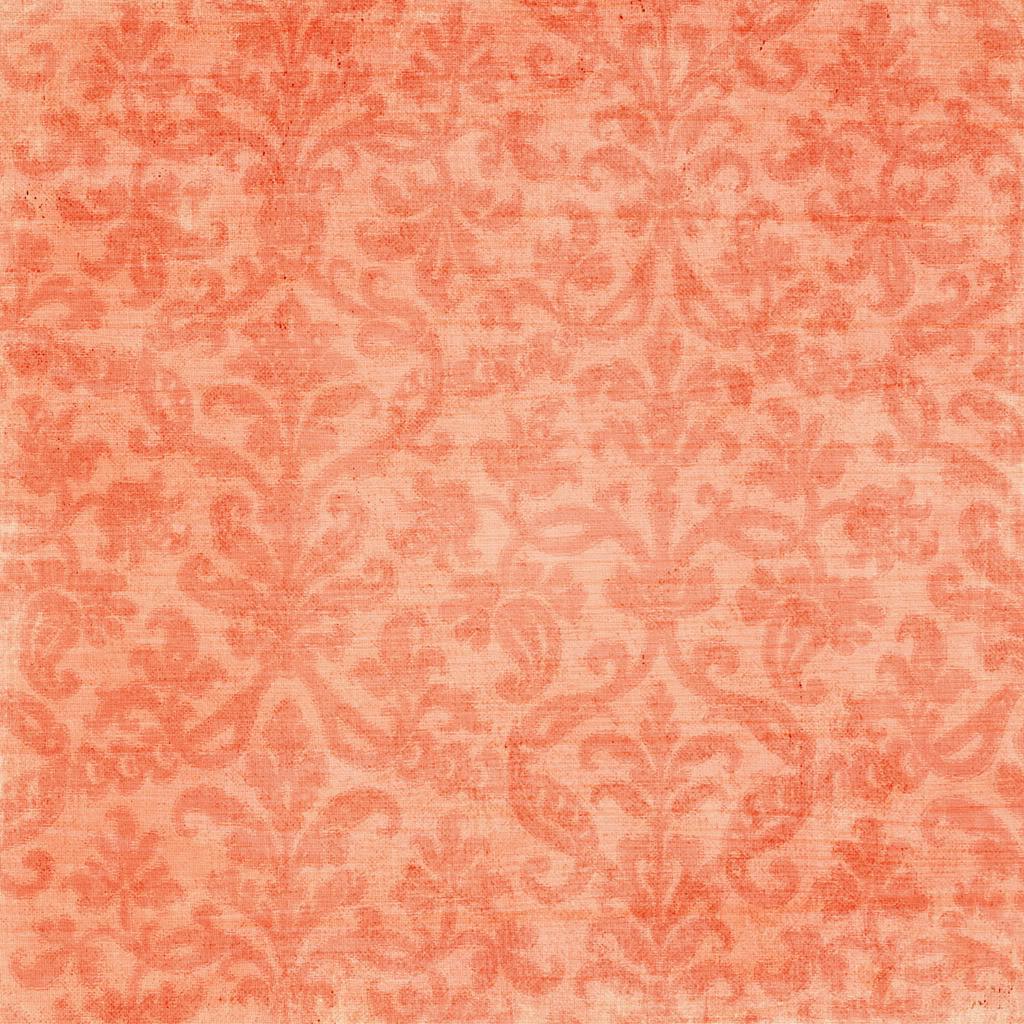 Coral Flowered Wallpaper Wallpapersafari