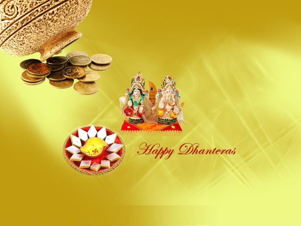 Happy Dhanteras Wishes  Laxmiji Wallpapers Happy Diwali 2013 1024x768