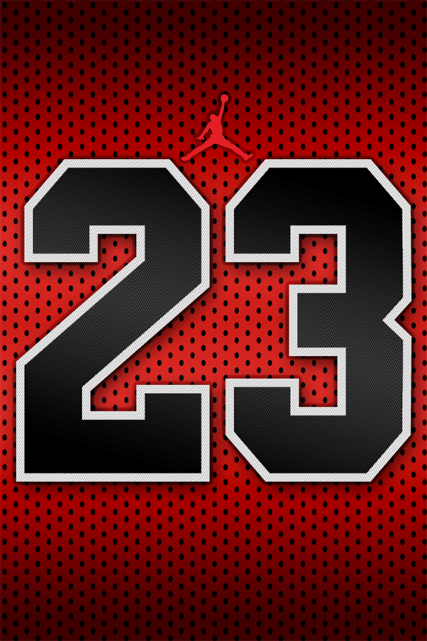 Michael Jordan 23 Wallpaper for iPhone 44S by justinglen75 on 600x900