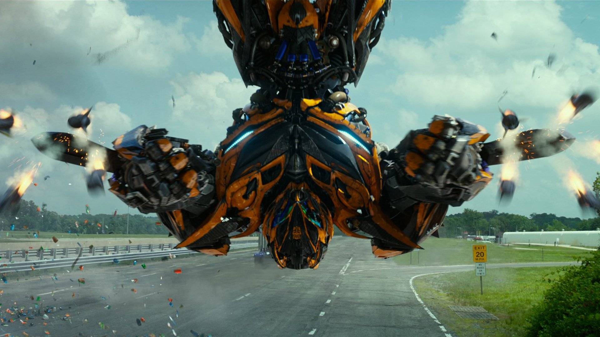 Bumblebee Transformers 1920x1080