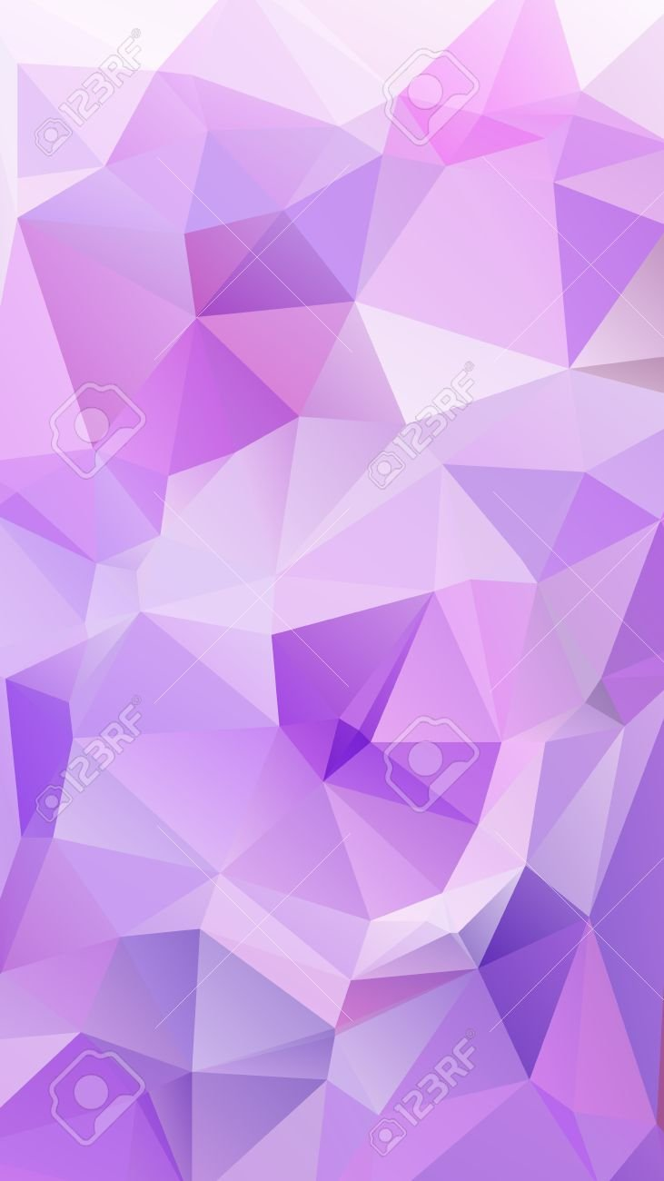 Purple Color Geometric Rumpled Triangular Low Poly Style Vector 731x1300