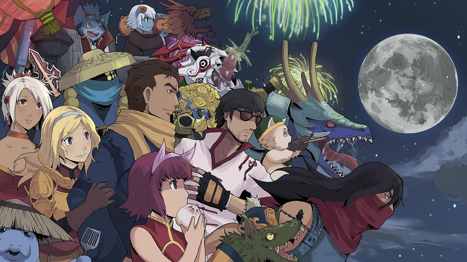 Anime League of Legends Wallpaper 1920x1080
