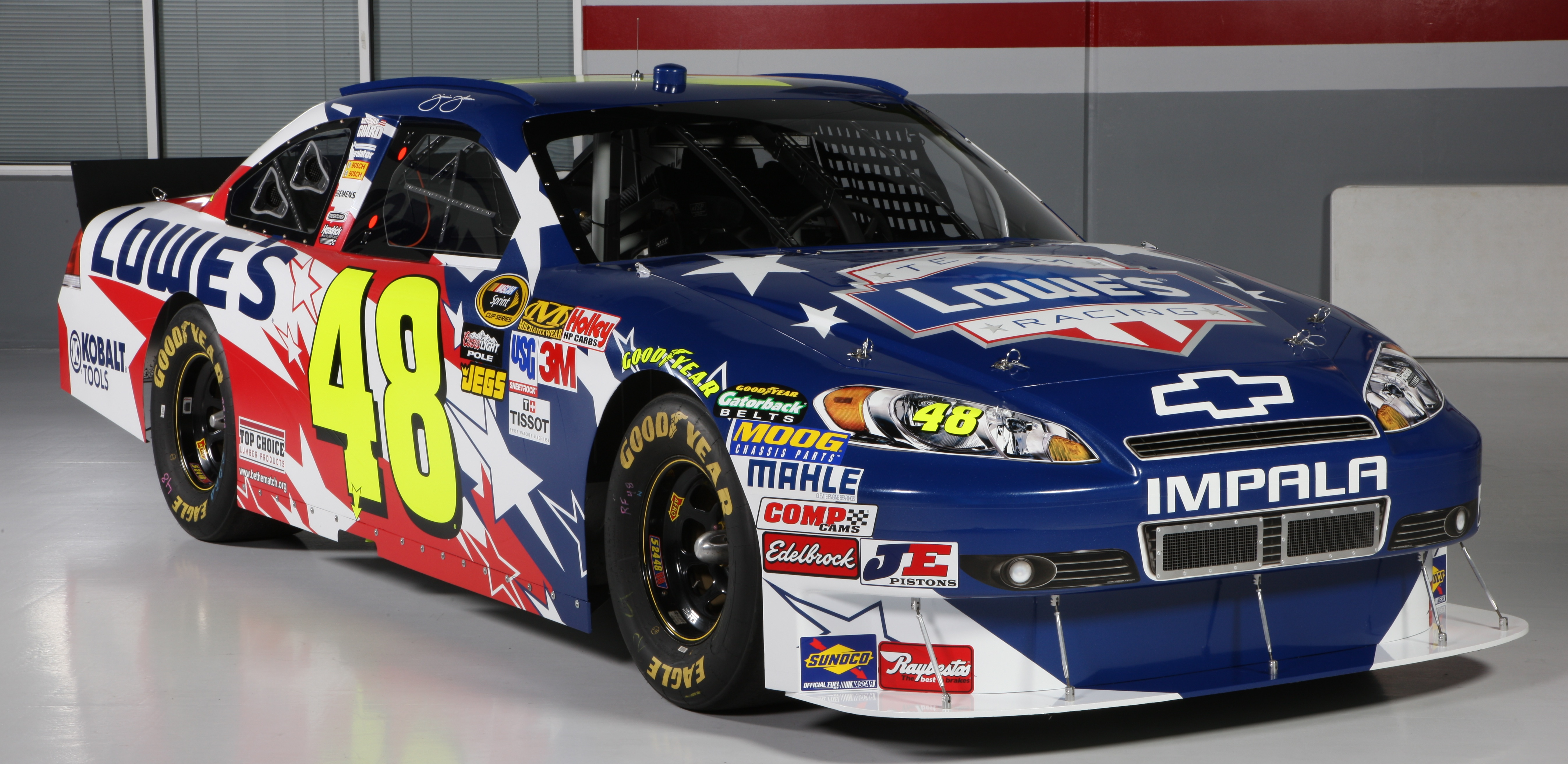 Jimmie Johnson Car Wallpaper 5386x2623