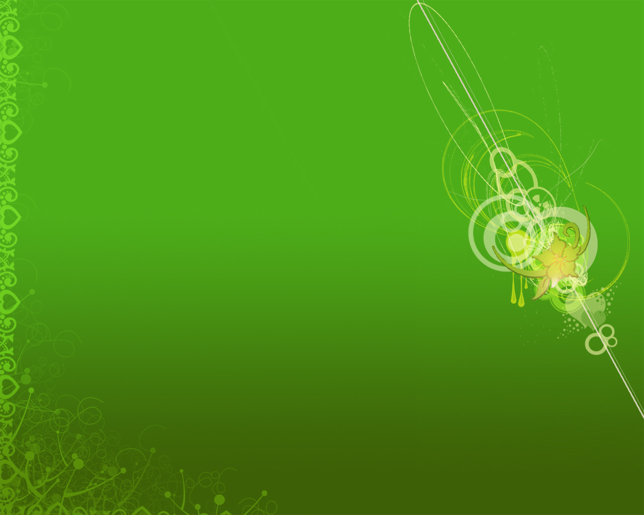 Green 3D wallpapers Green 3D background   Page 9 1280x1024