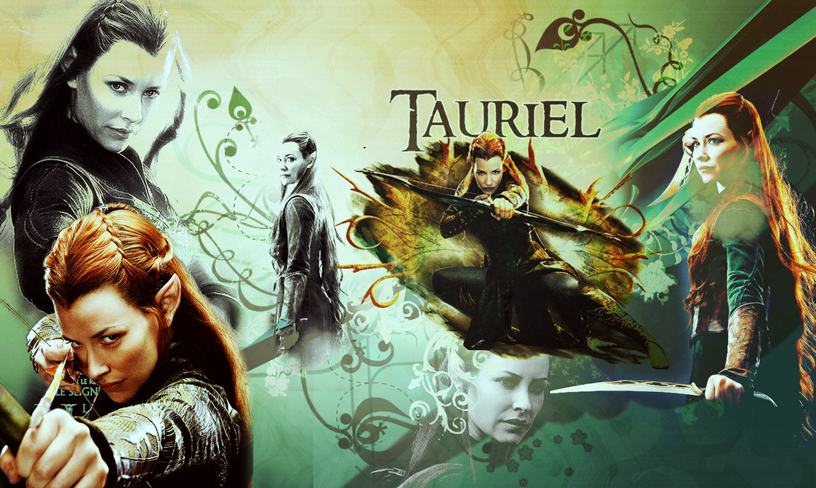 Tauriel wallpaper by RollingStar89 1154x691
