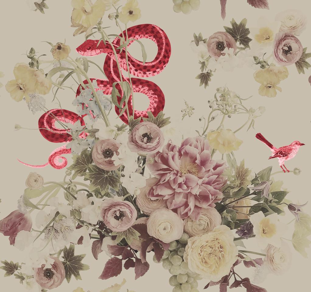 Fay Red Wallpaper Ashley Woodson Bailey 1022x960