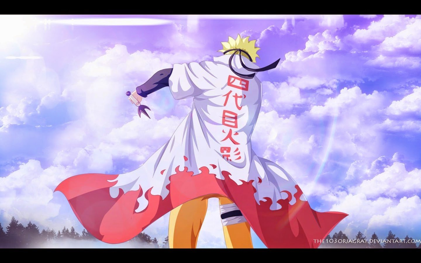 backgrounds for laptop or computer Naruto Hokage Background HD 1440x900