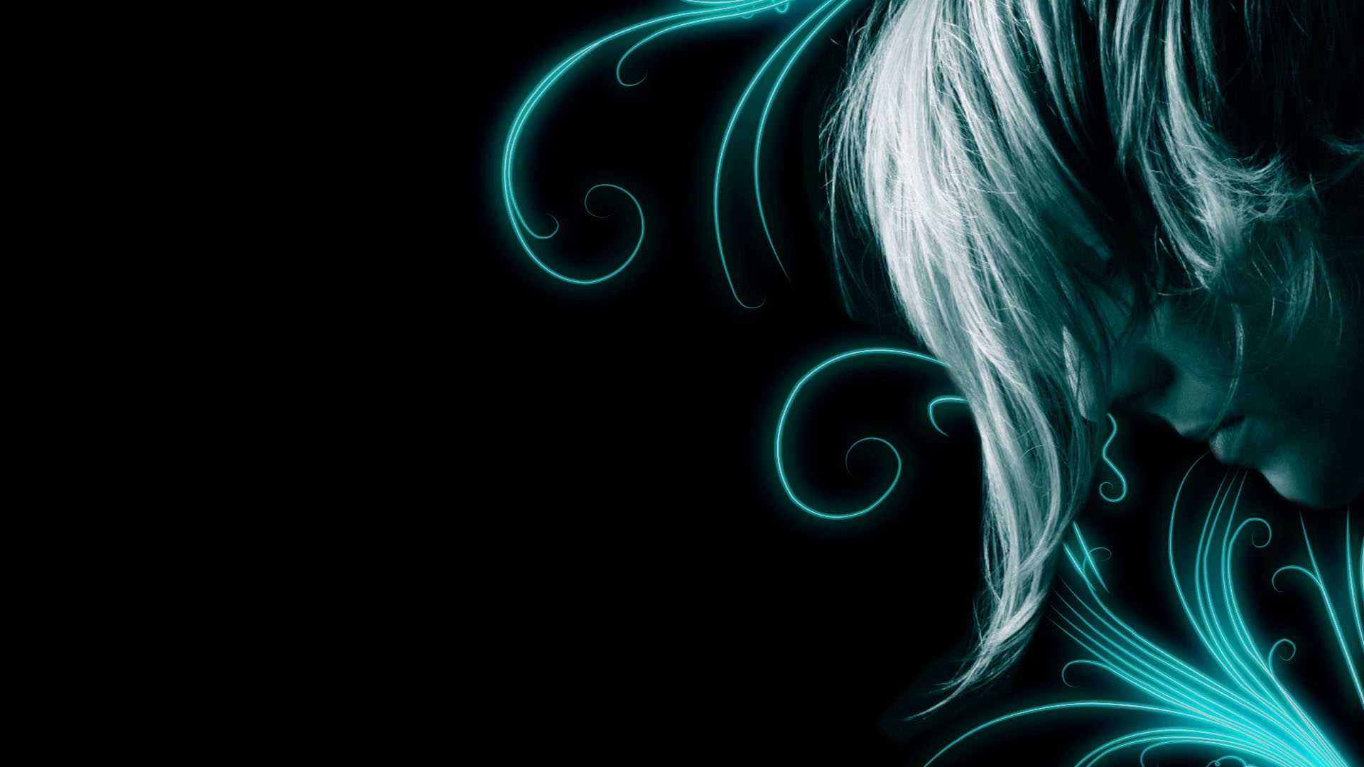 Displaying 18 Images For   Teal And Black Hair 1920x1080
