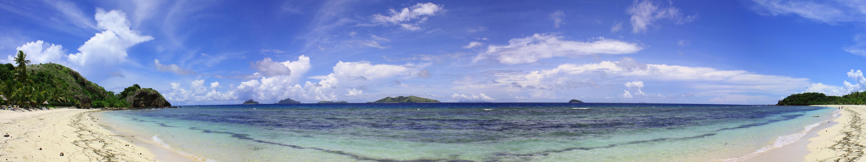 Wallpapers Download 5760x1080 ocean islands 5760x1080 wallpaper 5760x1080