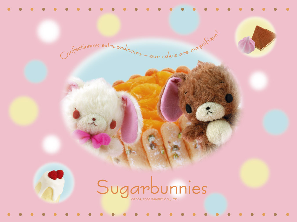 Sugarbunnies Wallpaper   Sugarbunnies Wallpaper 8399081 1024x768