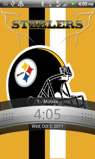 View bigger   Pittsburgh Steelers LWP for Android screenshot 307x512