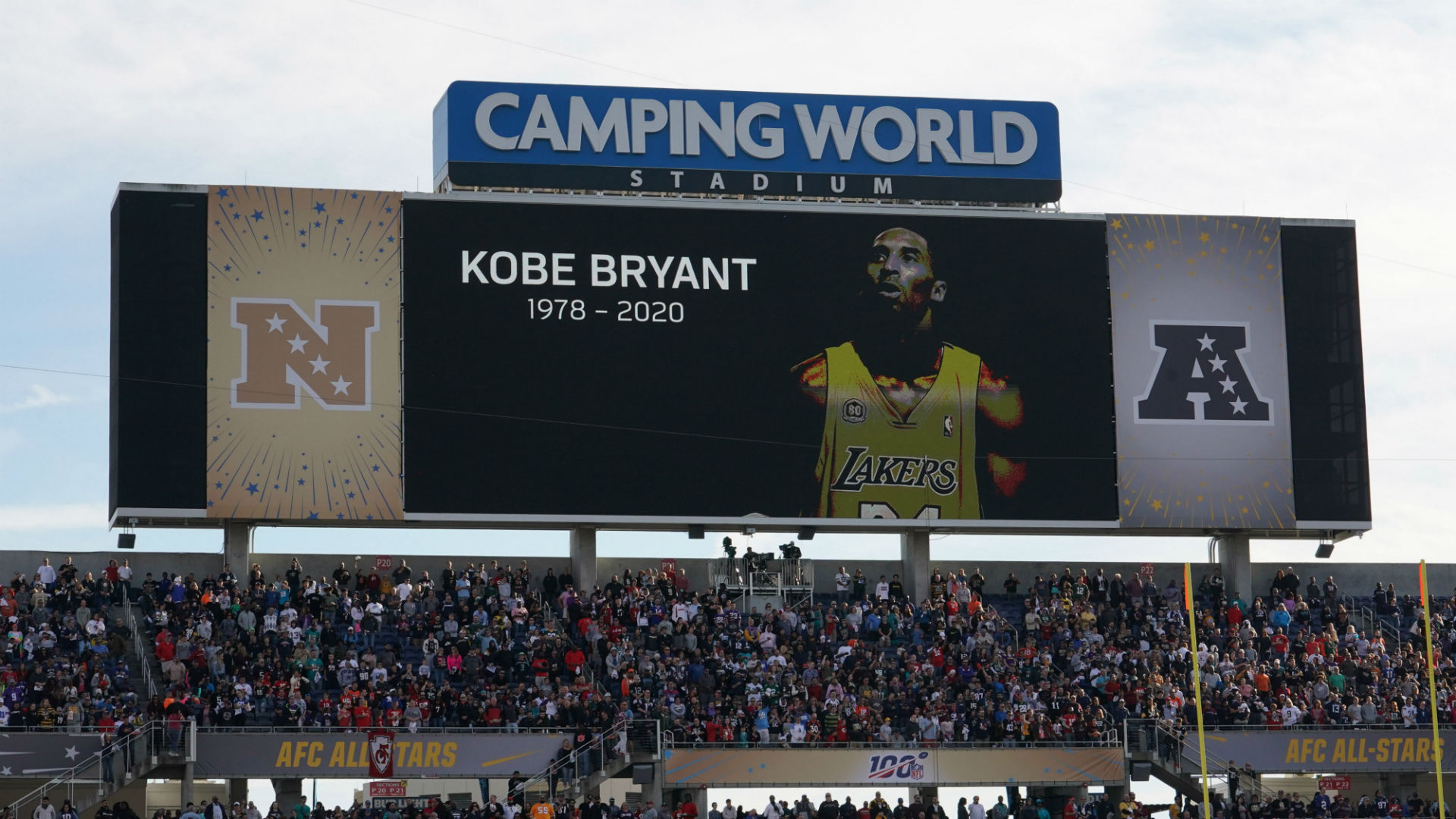 Fans at Pro Bowl honor Kobe Bryant with moment of silence 1920x1080