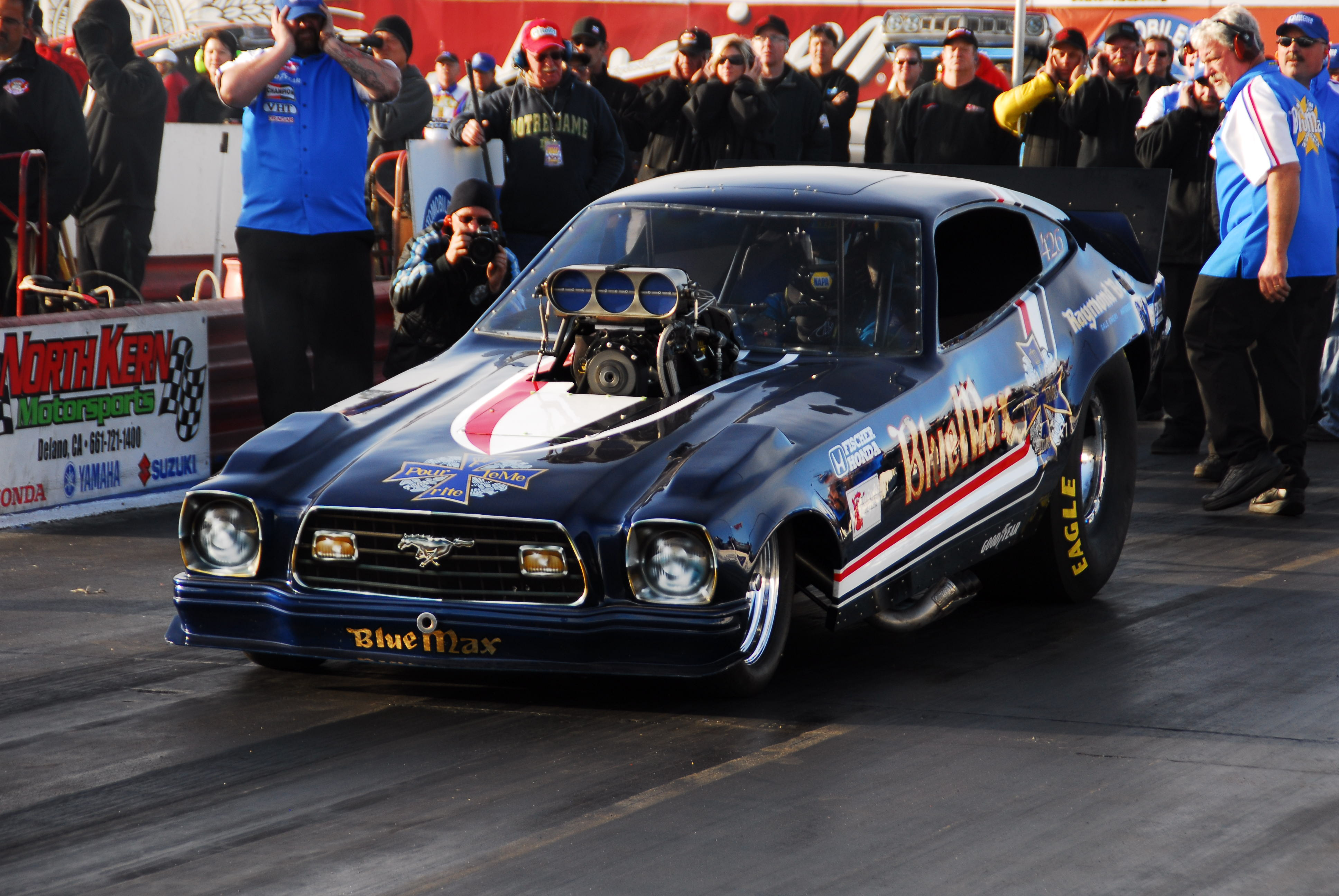 nhra drag racing race hot rod rods BLUE MAX ford mustang g wallpaper 3872x2592