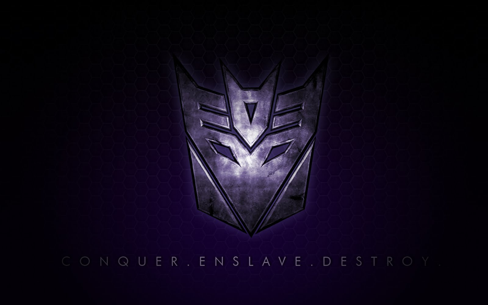 Decepticons Wallpaper by James Brunner about 15 layers in photoshop 1600x1000