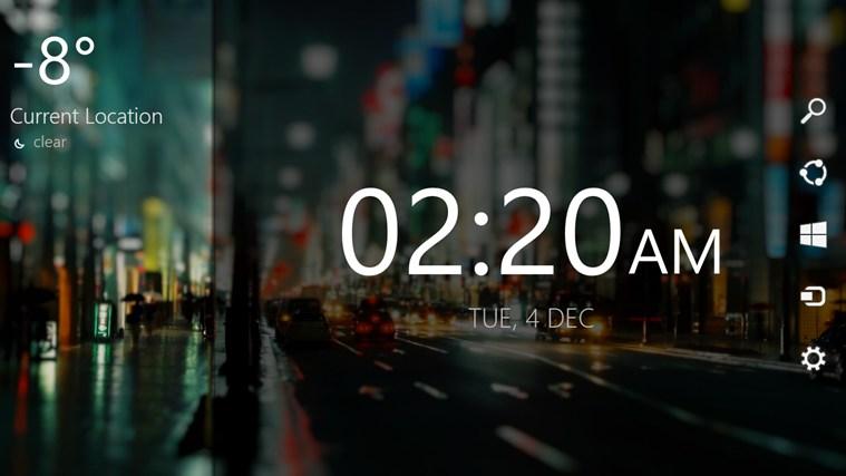Digital Clock Wallpaper Windows 8 Wallpapersafari