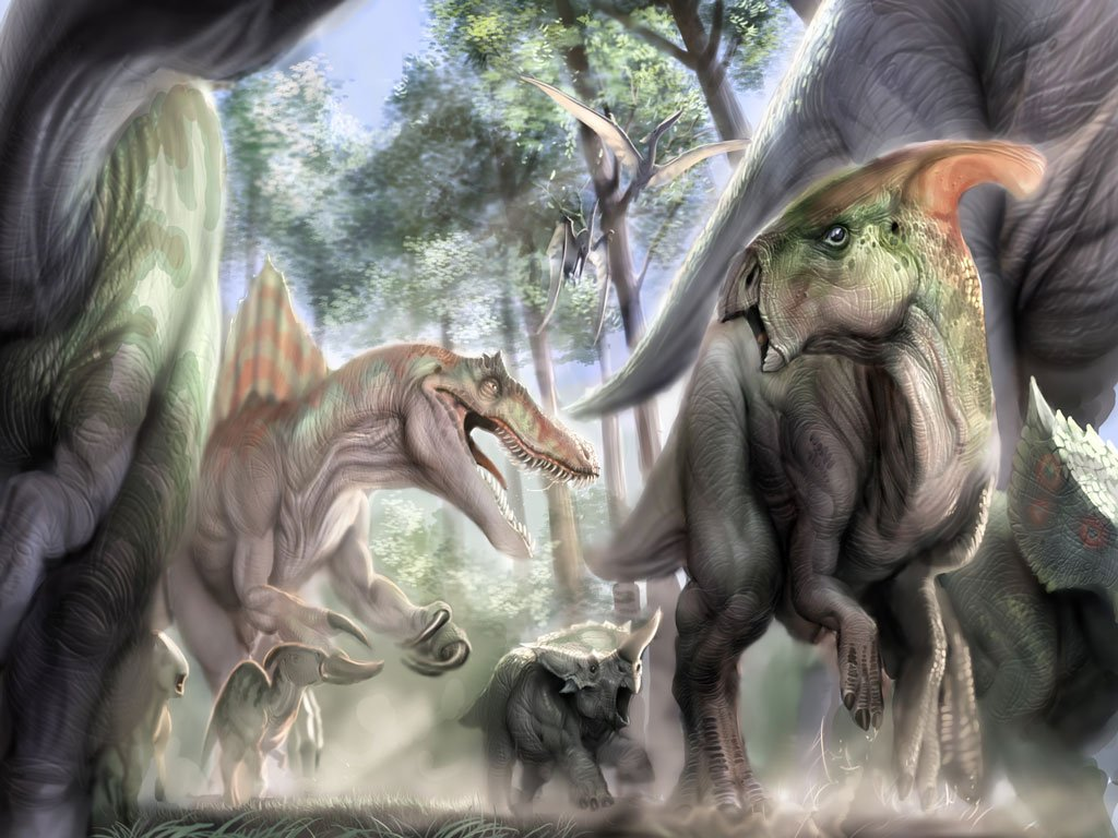 Dinosaurs Wallpapers Wallpapers 1024x768