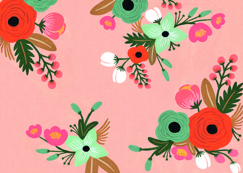 Gorgeous flower patterns by rifle paper co We Heart It 500x357
