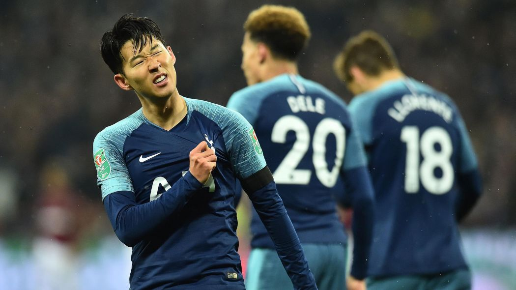 Football news   Heung Min Son is back and on fire   Fans laud 1050x590