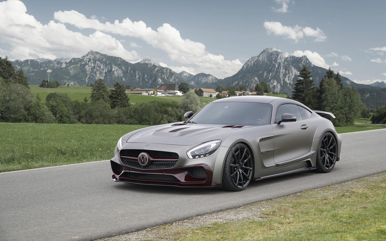 53 Mercedes AMG GT Fonds dcran HD Arrire plans 2880x1800