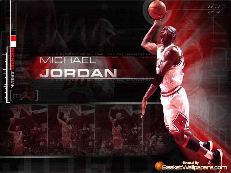 Michael Jordan Dunk 800x600