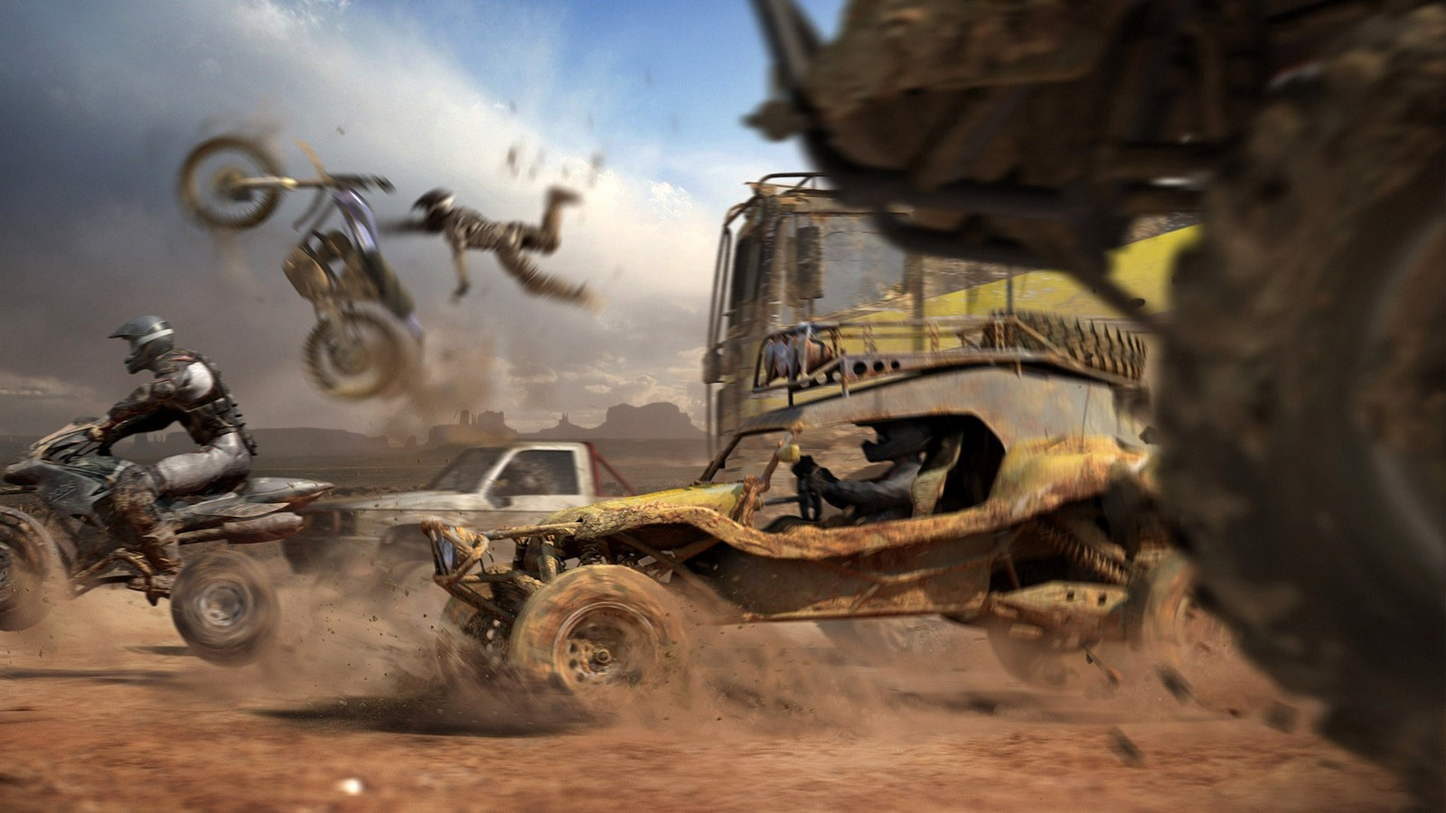 Dirt Games Cars And Bike Race HD Wallpaper Games HD Wallpaper 3D 1600x900
