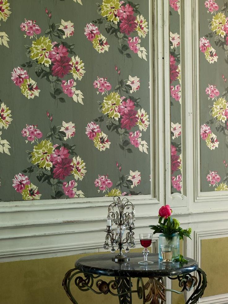 Buy Designers Guild Portier Wallpaper Clover P52105 online at 736x981
