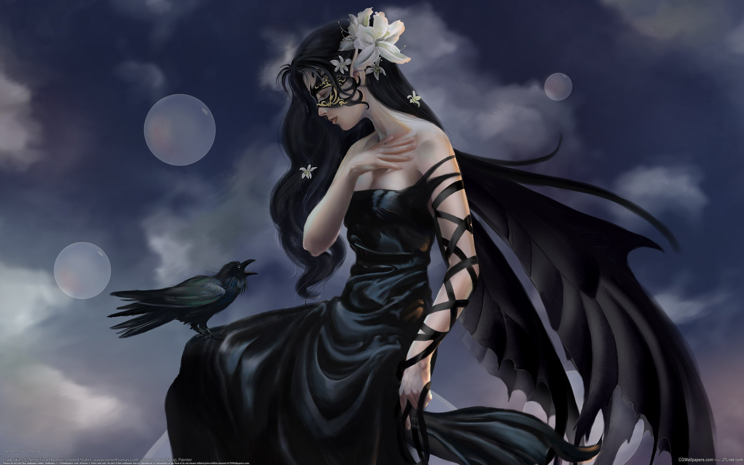 Gothic Dark Angel   Gothic Wallpaper 26397076   Page 2 2560x1600