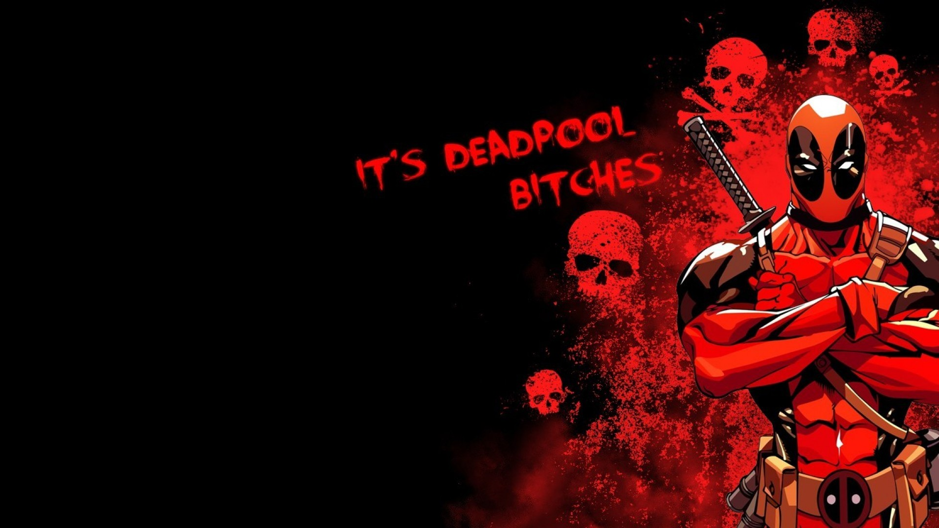 Deadpool Wallpaper 1920x1080