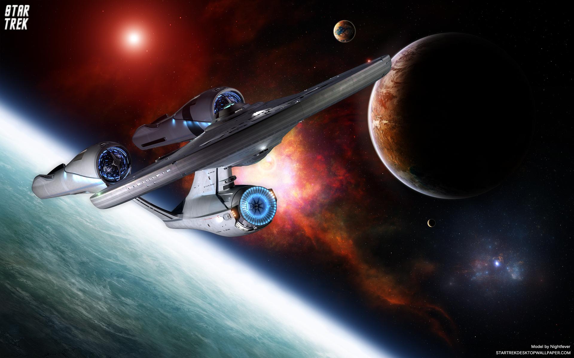Star Trek Uss Enterprise wallpaper   420108 1920x1200