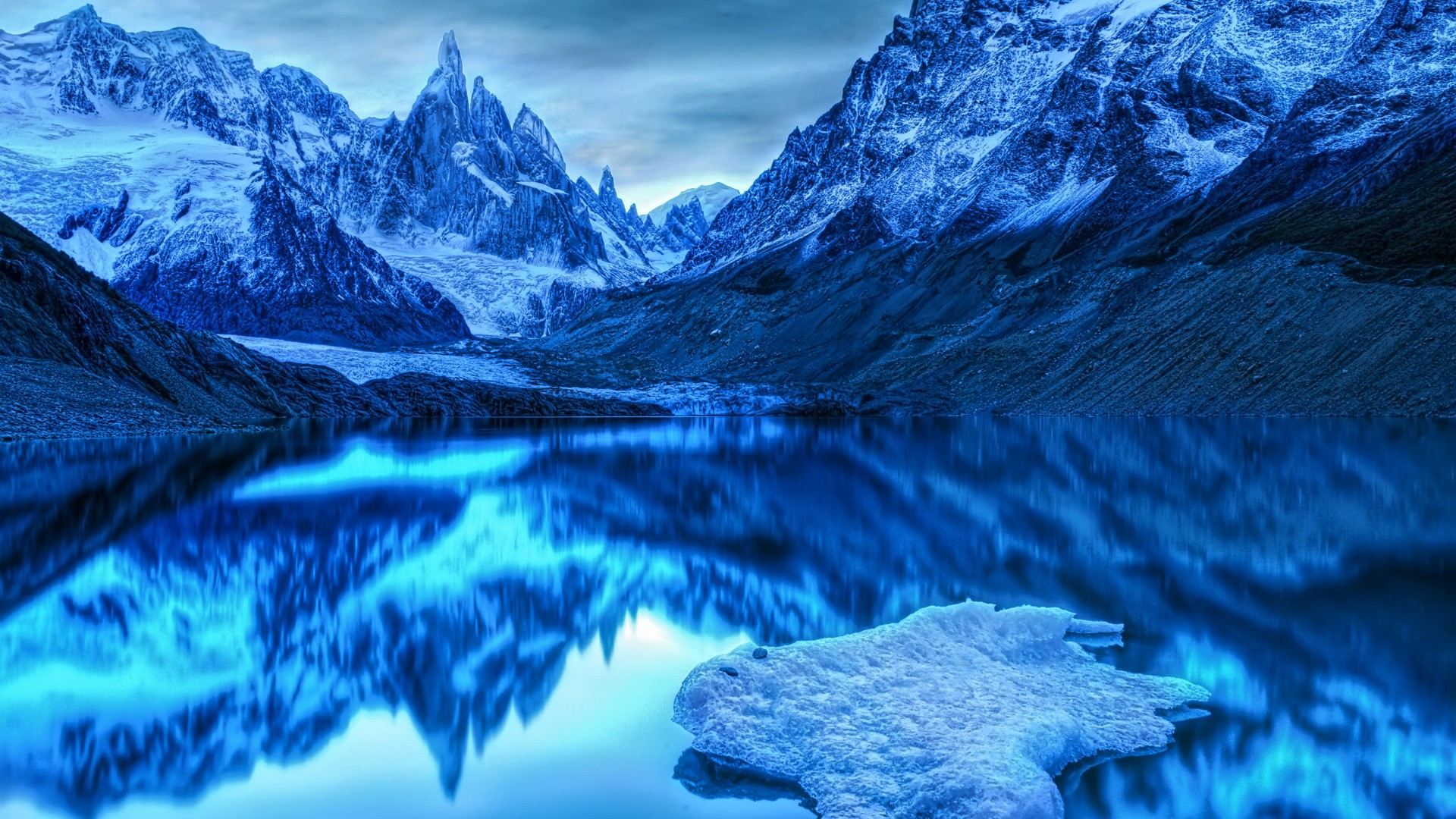 Alaska Desktop Wallpapers HD Blue Background 1920x1080