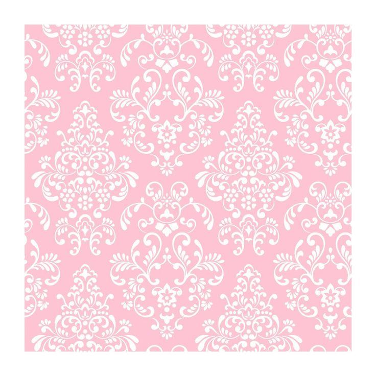 Light Pink Damask Wallpaper Demask Pinterest 736x736