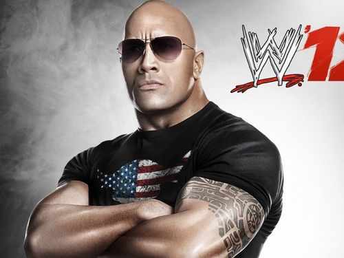 The Rock Wrestling WWE 500x375