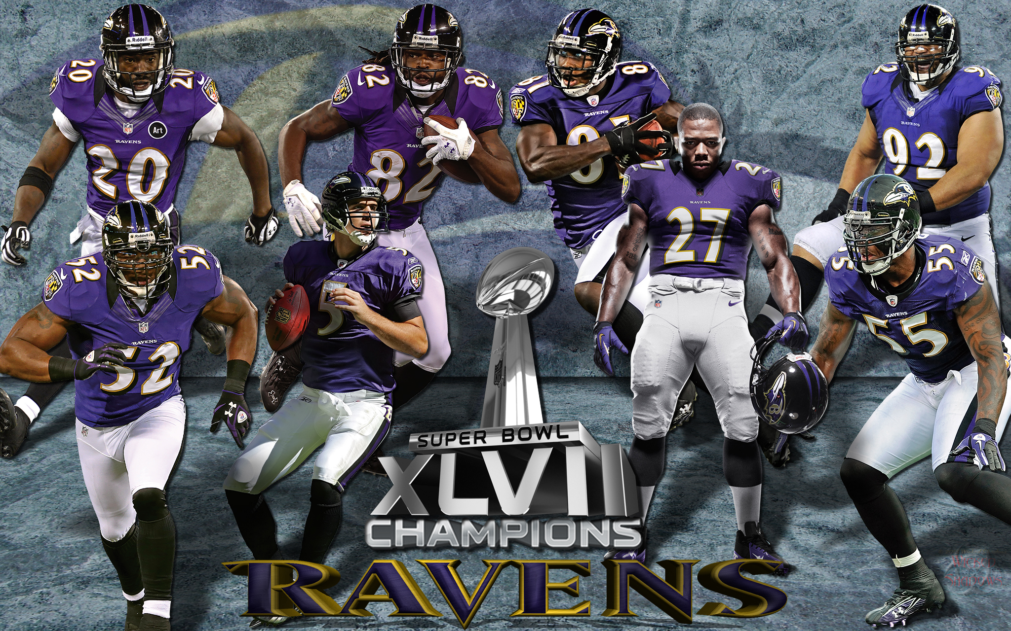 Wallpapers By Wicked Shadows Baltimore Ravens Super Bowl 2048x1280