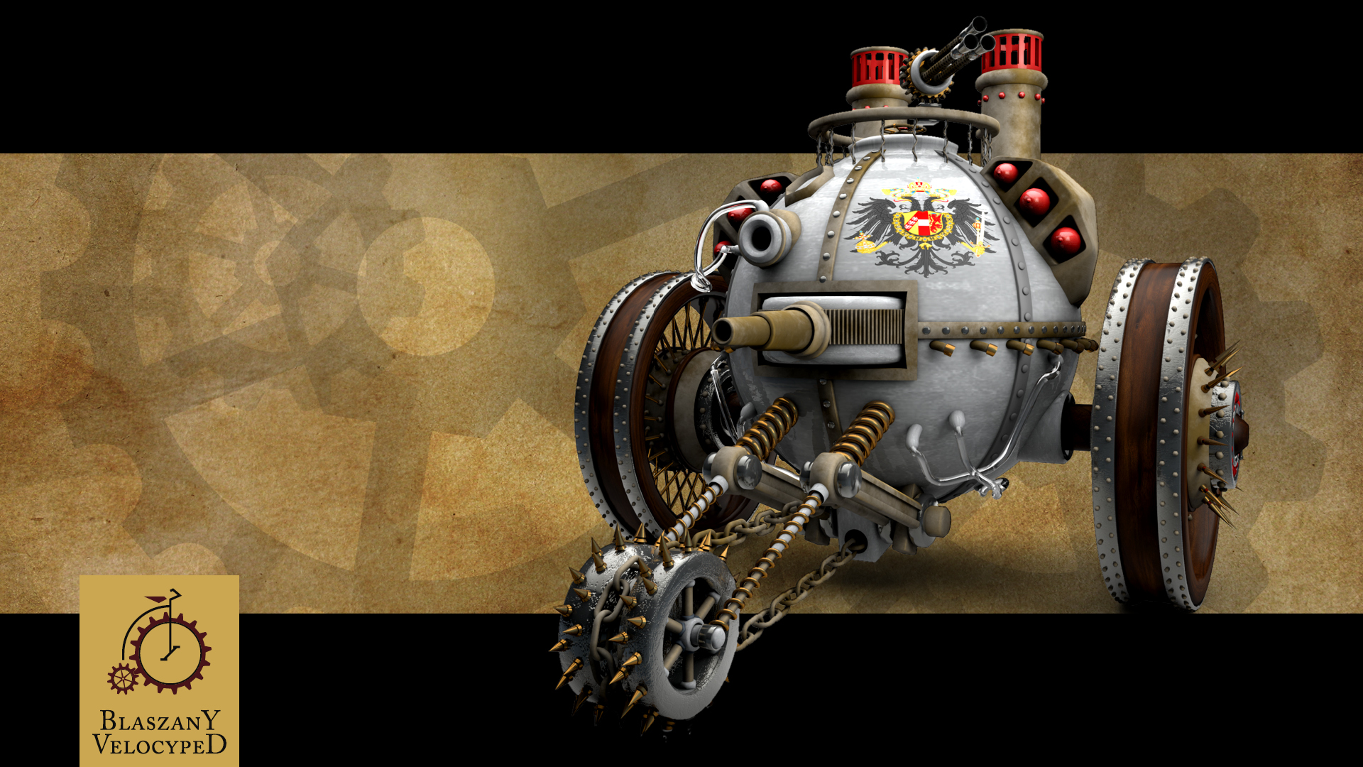Steampunk tank wallpaper   808294 1920x1080
