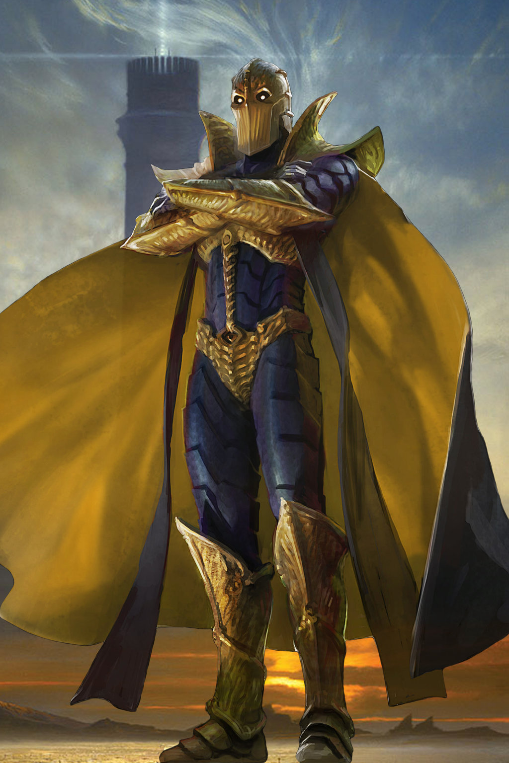 Doctor Fate DC Extended Universe Fan Art by Poolemax000 1024x1536