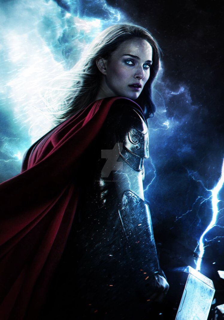 Idea by Michael Stricker on Thor Upcoming marvel movies Female 748x1069