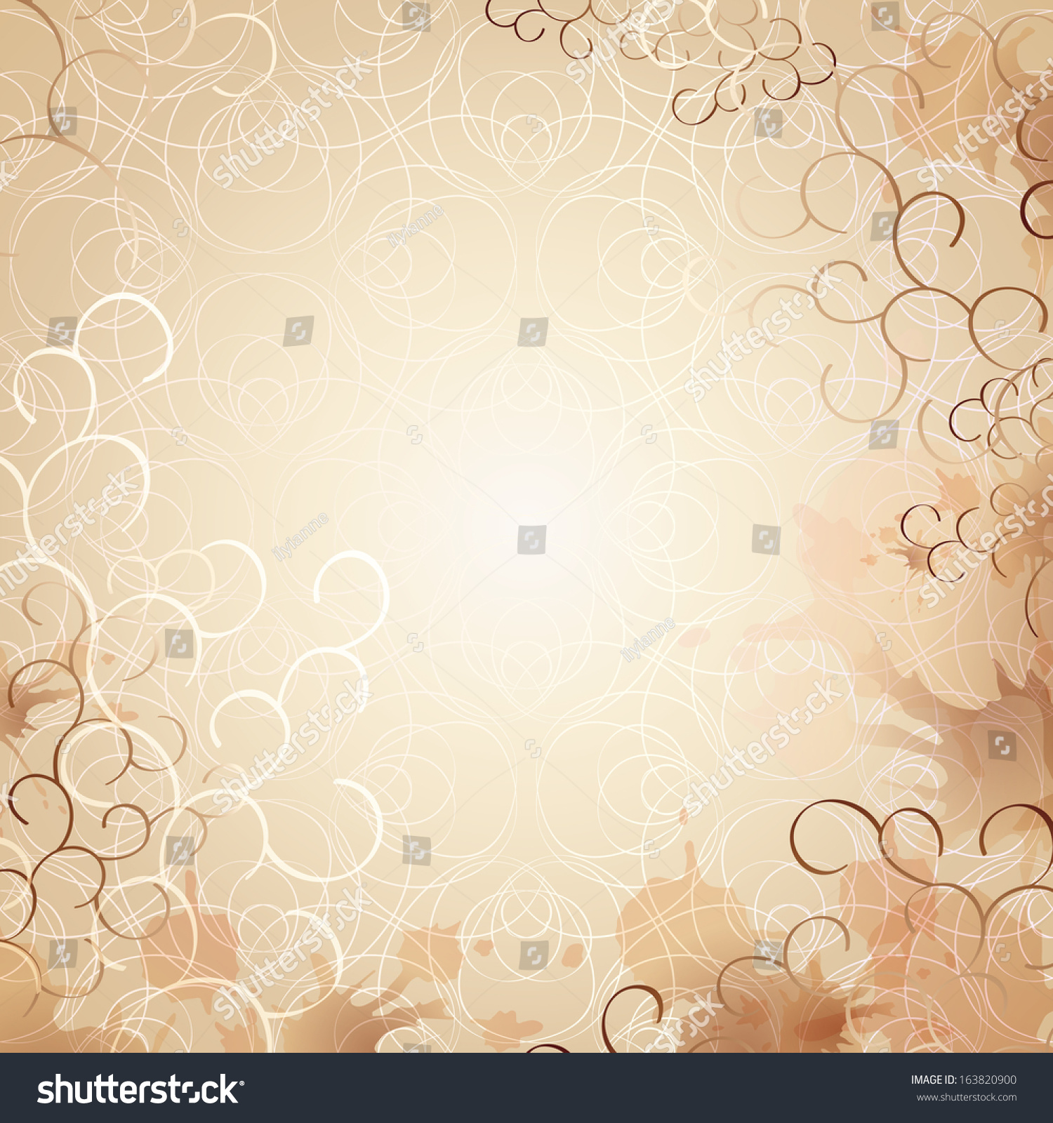 Soft Romantic Letter Invitation Background Decorative 1500x1600
