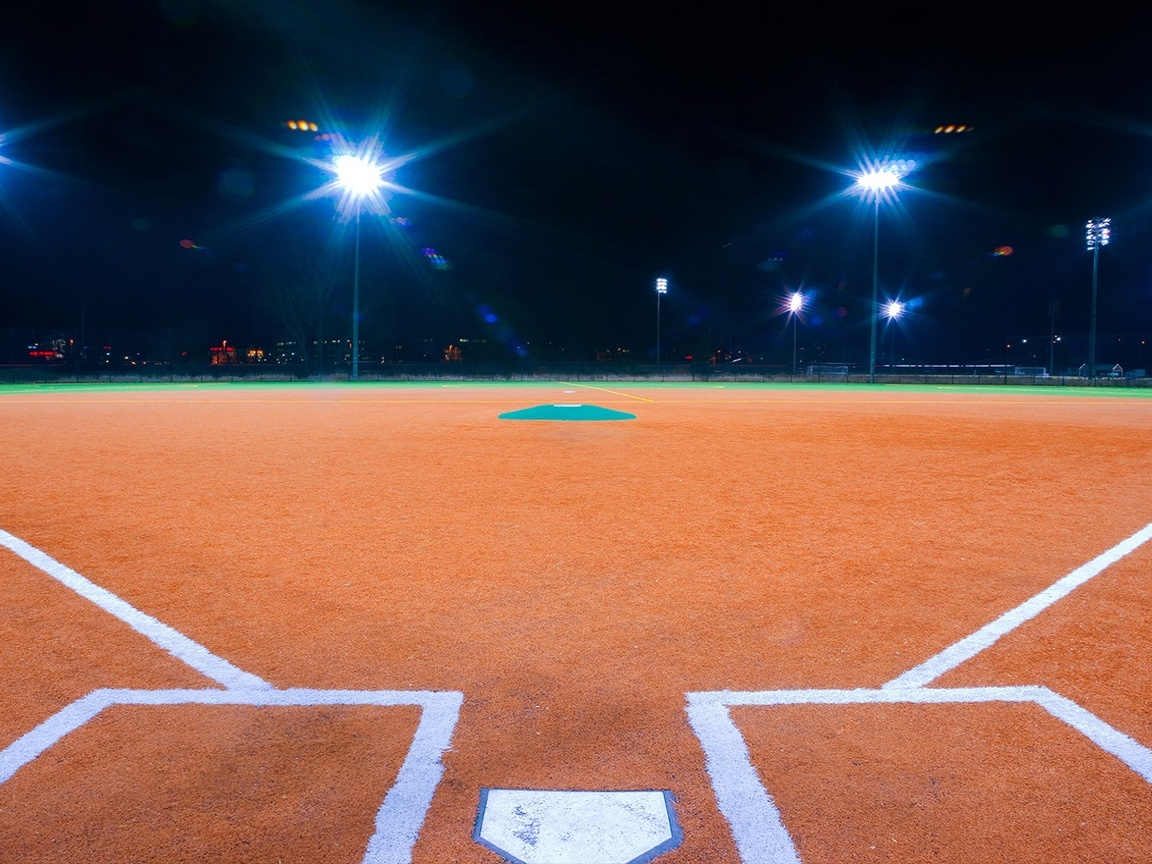 1152x864 Baseball Stadium Lighting Night Baseball 1152x864