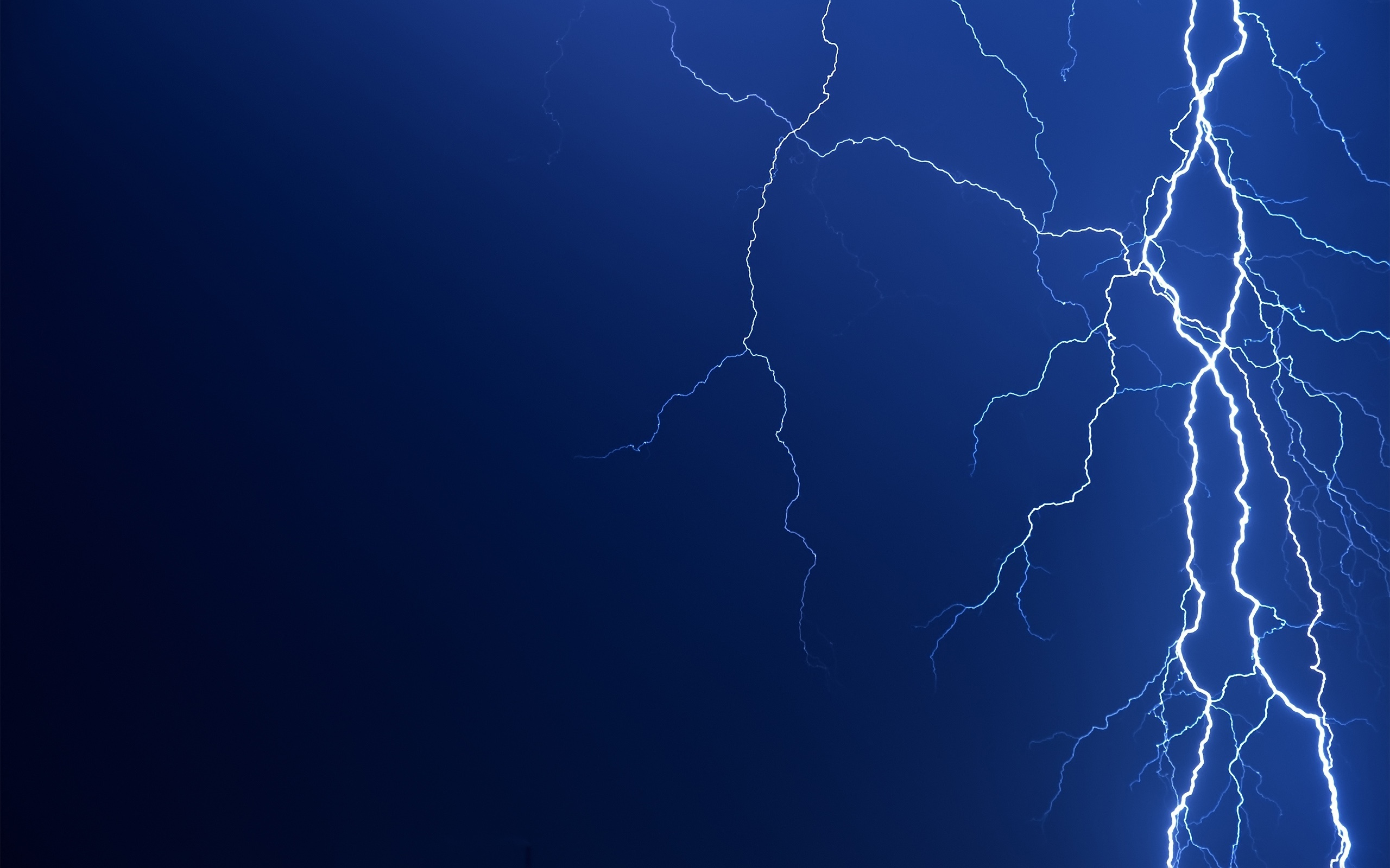 2560x1600 Lightning bolt desktop PC and Mac wallpaper 2560x1600