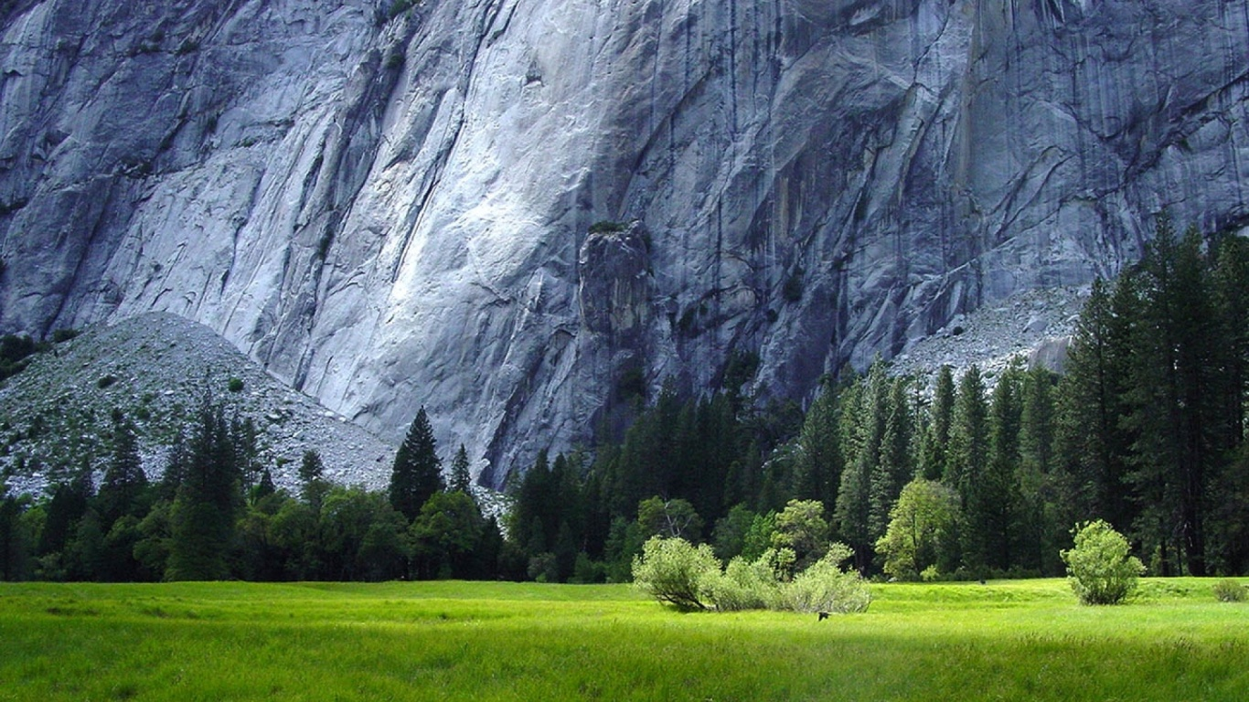 1366x768 Yosemite National Park Scenery desktop PC and Mac wallpaper 1366x768