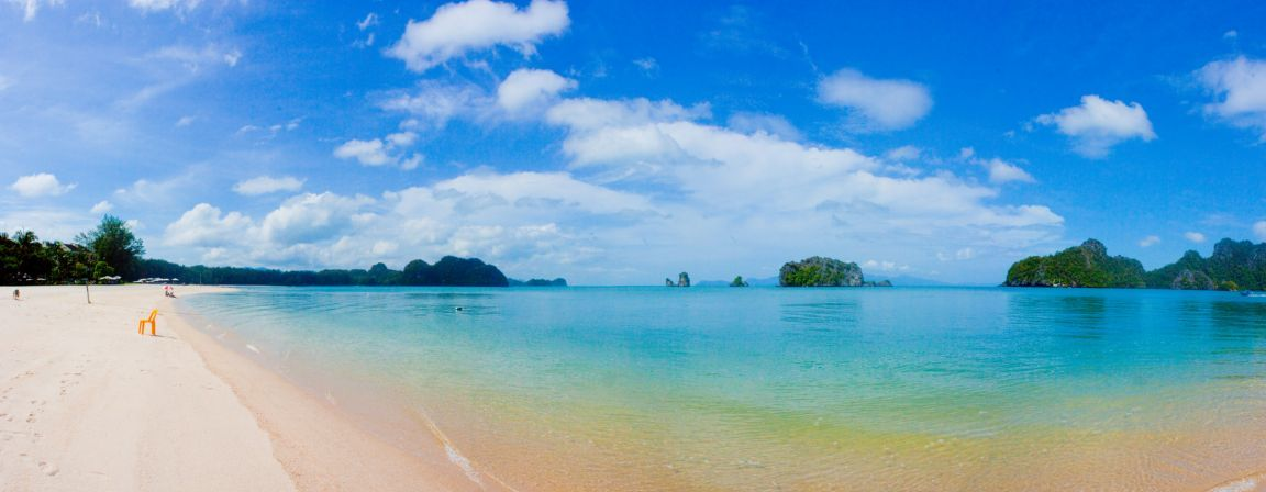 Panoramic tropical beach photos   Just for Sharing 1152x448