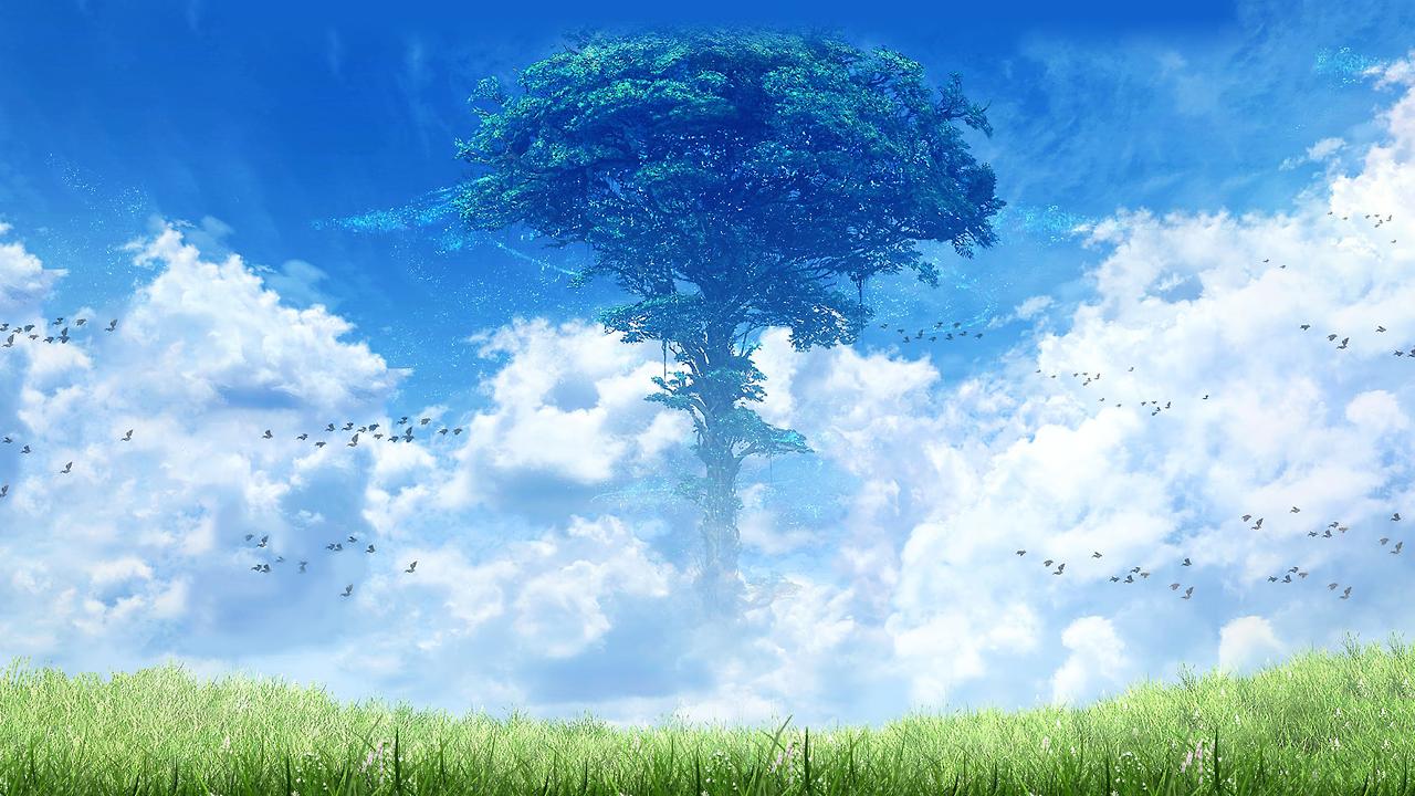 Free Miel KARi Xenoblade 2 World Tree background