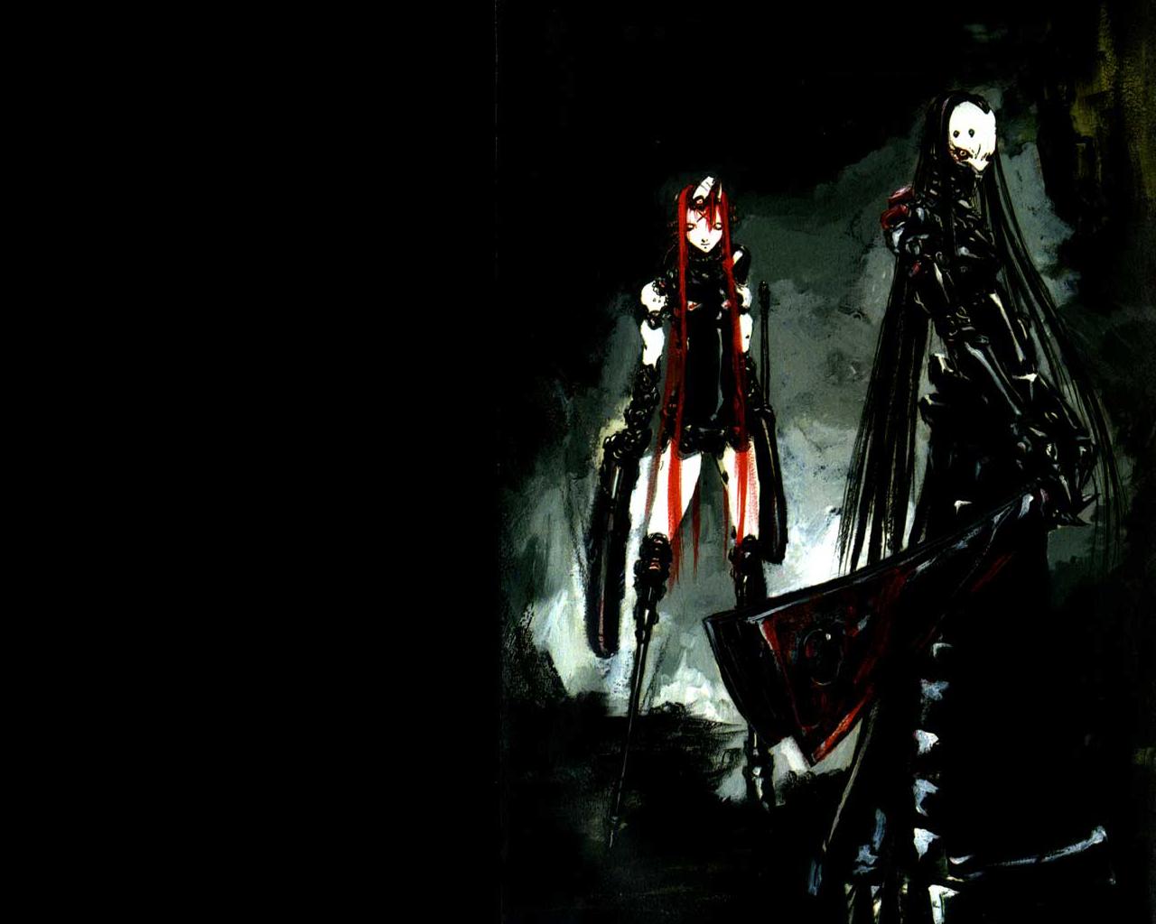 Cyber Goth Wallpaper Bilders 1280x1024
