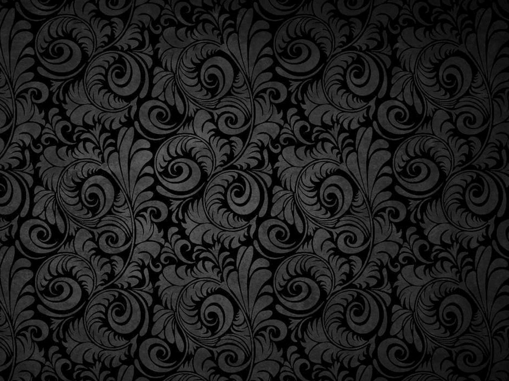 Flowers on black background wallpaper wallpapersafari for Black wallpaper with design