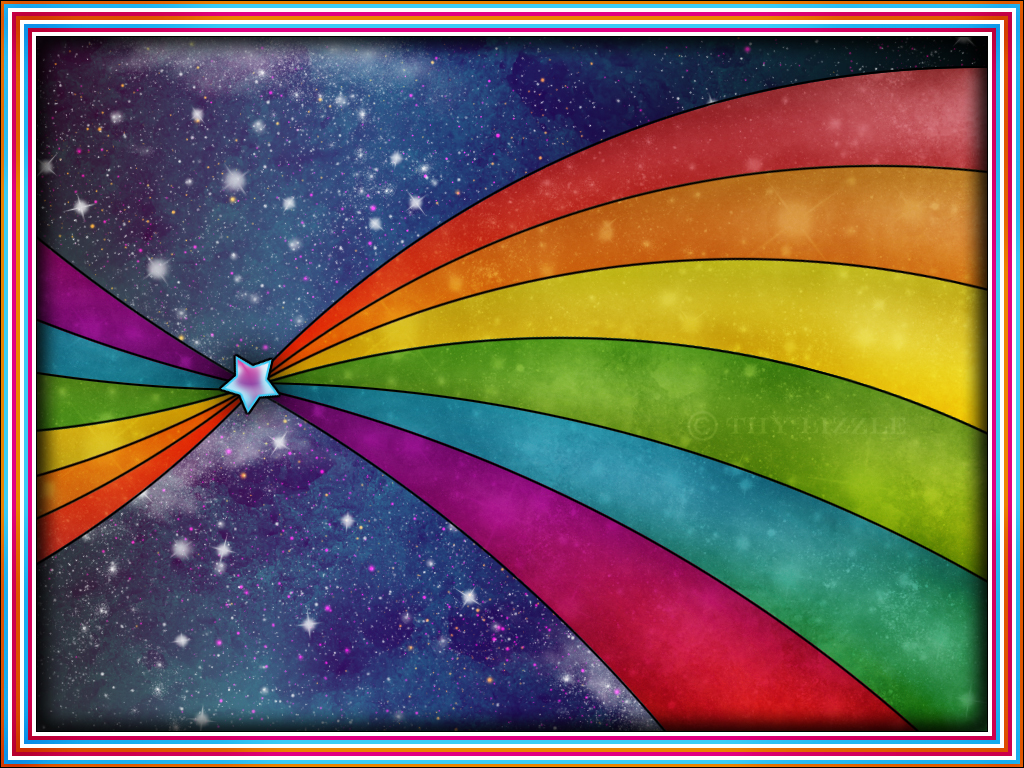 Rainbow Colorful Vector Wallpapers HD Wallpapers 1024x768