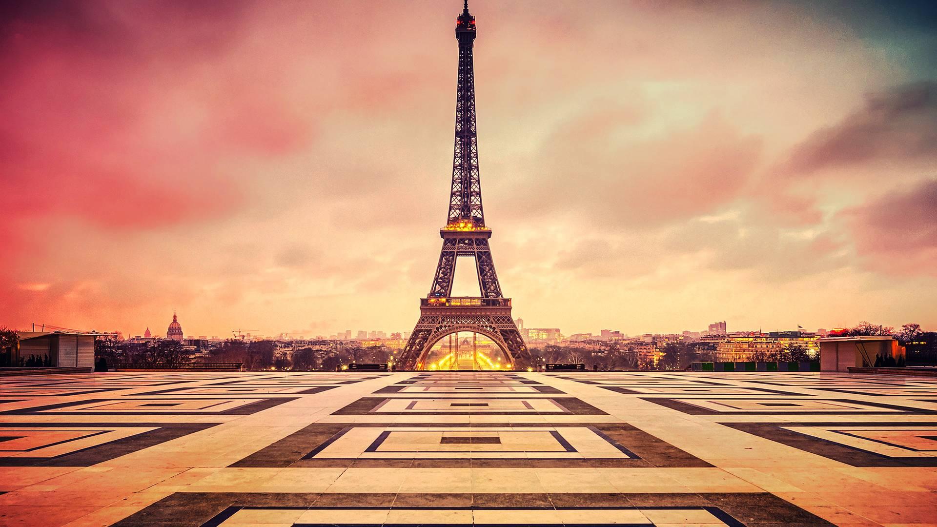Eiffel Tower Beautiful Paris Wallpaper HD Wallpaper WallpaperLepi 1920x1080