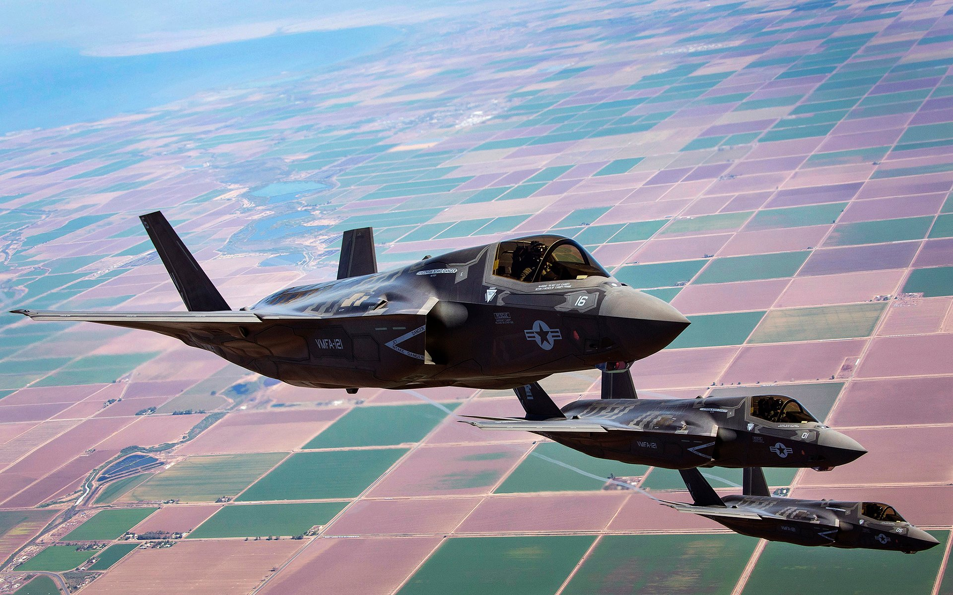 Lockheed Martin F 35 Lightning II Computer Wallpapers Desktop 1920x1200