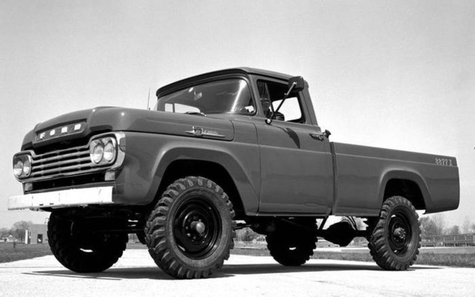 Classic Ford Truck Wallpaper 969x605